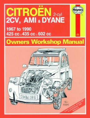 Citroen 2CV, Ami & Dyane (67 - 90) Haynes Repair Manual