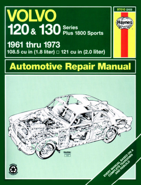 Volvo 120 & 130 Series (and P1800) (61 - 73) Haynes Repair Manual