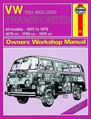 VW Transporter 1700, 1800 & 2000 (72 - 79) Haynes Repair Manual