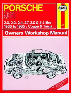 Porsche 911 (65 - 85) Haynes Repair Manual