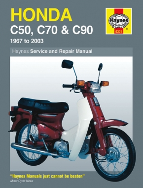 Honda C50, C70 & C90 (67 - 03) Haynes Repair Manual