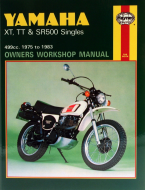 Yamaha XT, TT & SR500 Singles (75 - 83) Haynes Repair Manual