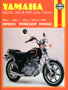Yamaha XS250, 360 & 400 sohc Twins (75 - 84) Haynes Repair Manual