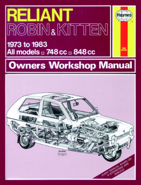 Reliant Robin & Kitten (73 - 83) Haynes Repair Manual