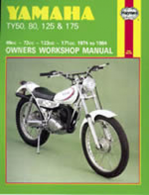 Yamaha TY50, 80, 125 & 175 (74 - 84) Haynes Repair Manual