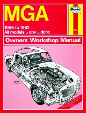 MGA (55 - 62) Haynes Repair Manual