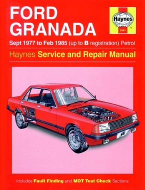 Ford Granada Petrol (Sept 77 - Feb 85) Haynes Repair Manual
