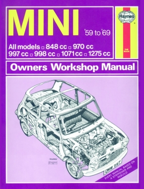 Mini (1959 - 1969) Haynes Repair Manual