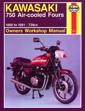Kawasaki 750 Air-cooled Fours (80 - 91) Haynes Repair Manual