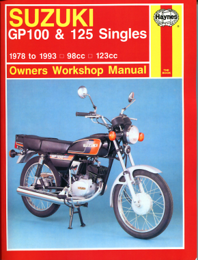 Suzuki GP100 & 125 Singles (78 - 93) Haynes Repair Manual