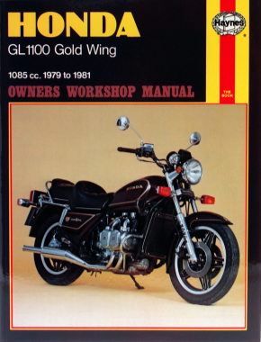 Honda GL1100 Gold Wing (79 - 81) Haynes Repair Manual