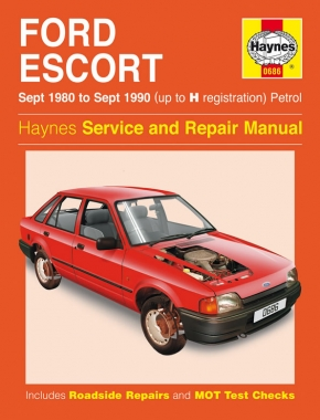 Ford Escort Petrol (Sept 80 - Sept 90) Haynes Repair Manual