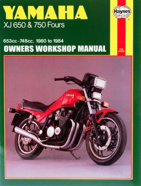Yamaha XJ650 & 750 Fours (80 - 84) Haynes Repair Manual
