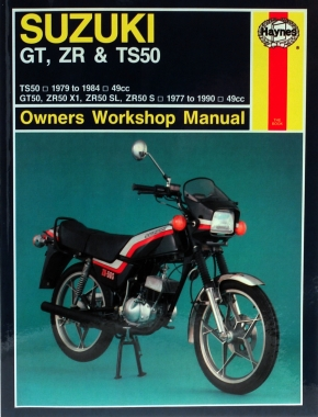Suzuki GT, ZR & TS50 (77 - 90) Haynes Repair Manual