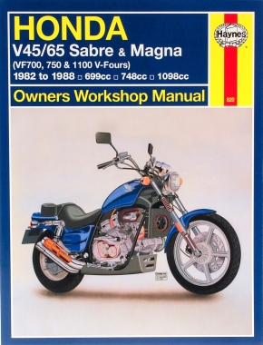 Honda V45/65 Sabre & Magna (82 - 88) Haynes Repair Manual
