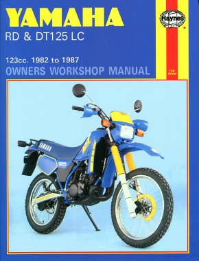 Yamaha RD & DT125LC (82 - 87) Haynes Repair Manual
