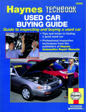 Used Car Buying Guide Haynes Techbook (USA)