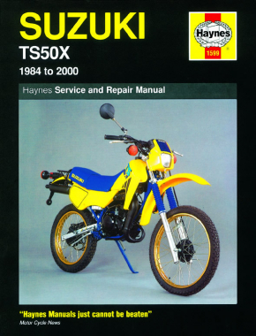 Suzuki TS50X (84 - 00) Haynes Repair Manual