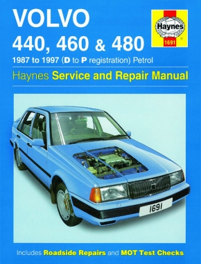 Volvo 440, 460 & 480 Petrol (87 - 97) Haynes Repair Manual