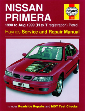 Nissan Primera Petrol (90 - Aug 99) Haynes Repair Manual