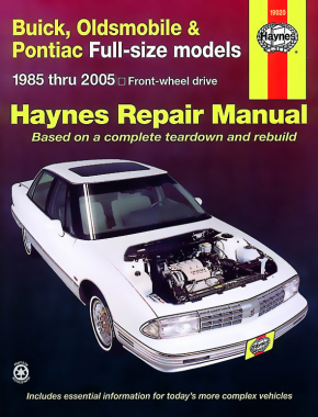 Buick, Oldsmobile & Pontiac full-size FWD (1985-2005) Haynes Repair Manual (USA)