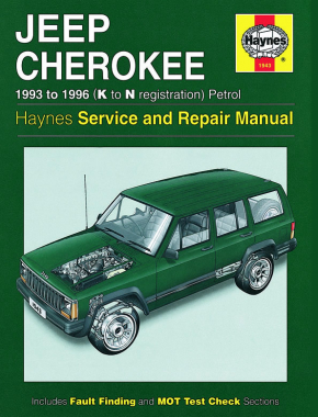 Jeep Cherokee Petrol (93 - 96) Haynes Repair Manual