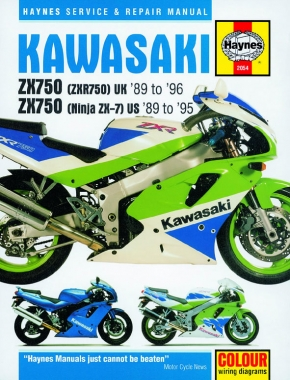 Kawasaki ZX750 (Ninja ZX-7 & ZXR750) Fours (89 - 96) Haynes Repair Manual