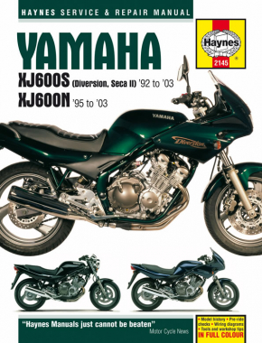 Yamaha XJ600S (Diversion, Seca II) & XJ600N Fours (92 - 03) Haynes Repair Manual