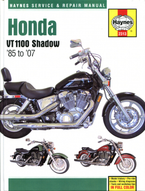 Honda VT1100 Shadow (85-07) Haynes Repair Manual