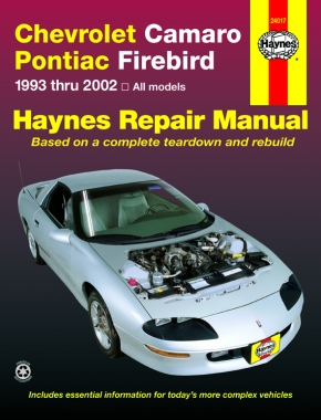 Chevrolet Camaro & Pontiac Firebird (1993-2002) Haynes Repair Manual (USA)