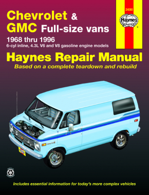Chevrolet & GMC full-size petrol vans (1968-1996) Haynes Repair Manual (USA)