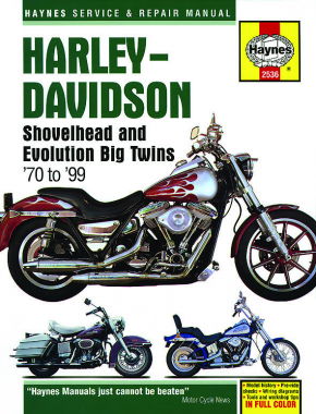 Harley-Davidson Shovelhead & Evolution Big Twins (70-99) Haynes Repair Manual