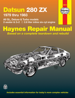 Datsun 280ZX (1979-1983) Haynes Repair Manual (USA)