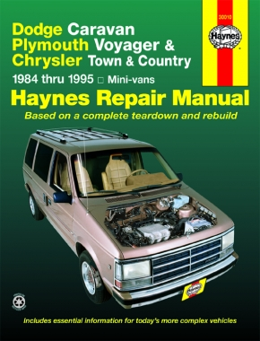 Dodge Caravan, Plymouth Voyager & Chrysler Town & Country (1984-1995) Haynes Repair Manual (USA)