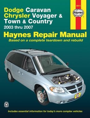 Dodge Caravan, Chrysler Grand Voyager (2003-2007) Haynes Repair Manual (USA)