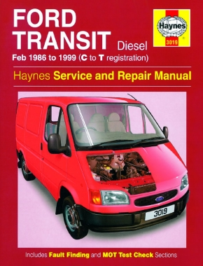 Ford Transit Diesel (Feb 86 - 99) Haynes Repair Manual