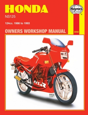 Honda NS125 (86 - 93) Haynes Repair Manual