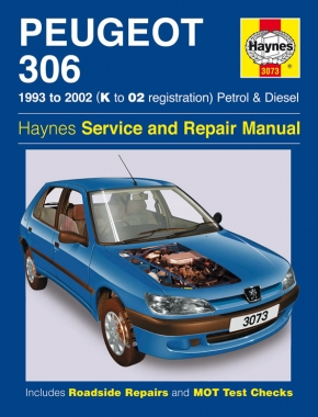 Peugeot 306 Petrol & Diesel (93 - 02) Haynes Repair Manual