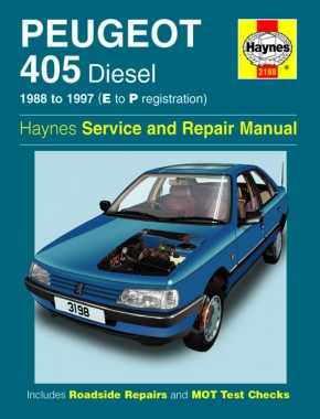 Peugeot 405 Diesel (88 - 97) Haynes Repair Manual
