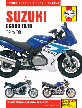 Suzuki GS500 Twin (89 - 08) Haynes Repair Manual