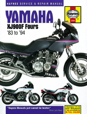 Yamaha XJ900F Fours (83 - 94) Haynes Repair Manual