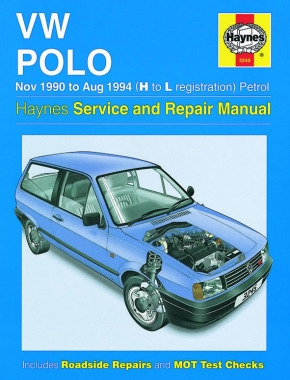 VW Polo Petrol (Nov 90 - Aug 94) Haynes Repair Manual