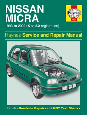 Nissan Micra (93 - 02) Haynes Repair Manual