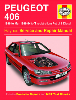 Peugeot 406 Petrol & Diesel (96 - Mar 99) Haynes Repair Manual