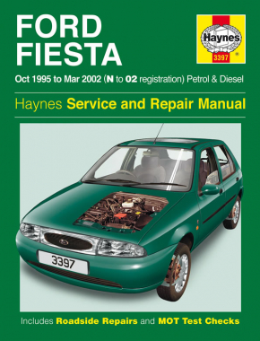Ford Fiesta Petrol & Diesel (Oct 95 - Mar 02) Haynes Repair Manual
