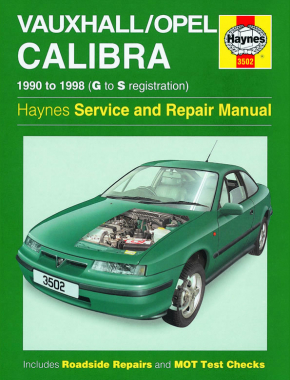 Vauxhall/Opel Calibra (90 - 98) Haynes Repair Manual