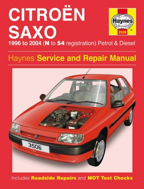 Citroen Saxo Petrol & Diesel (96 - 04) Haynes Repair Manual