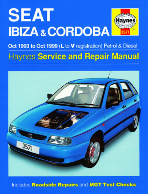 Seat Ibiza & Cordoba Petrol & Diesel (Oct 93 - Oct 99) Haynes Repair Manual