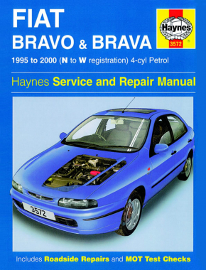 Fiat Bravo & Brava Petrol (95 - 00) Haynes Repair Manual