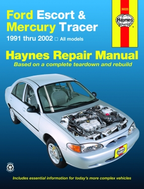 Ford Escort & Mercury Tracer (1991-2002) Haynes Repair Manual (USA)